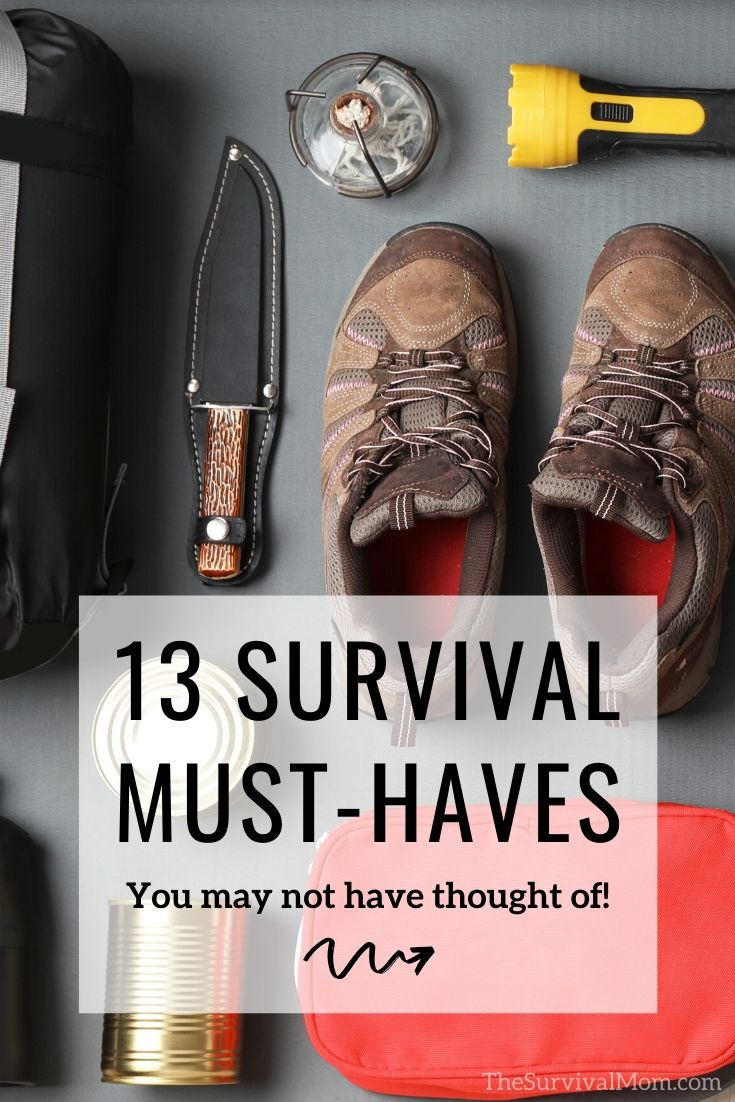 13 Survival Must-Haves You May Not Have Thought Of via The Survival Mom