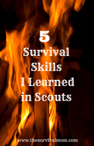 5 Survival Skills I Learned in Scouts
