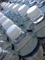 water bottles The Baby Steps, #1: Plan for a short term emergency