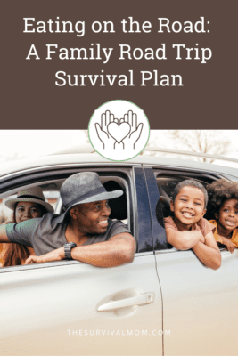 image: family road trip, family in car, African American family in car, family vacation