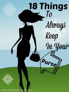 18 Things to Have in Your Purse