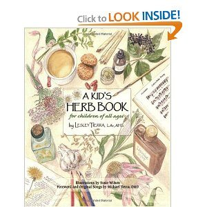 Book Review:  A Kid's Herb Book