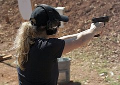 woman with gun 10 Lessons for Armed Citizens from the Aurora Theater Mass Murder