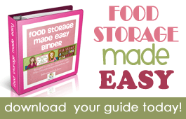 REVIEW:  Food Storage Made Easy