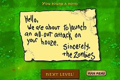 Survival Survey:  OMG!  Not the Zombies!!