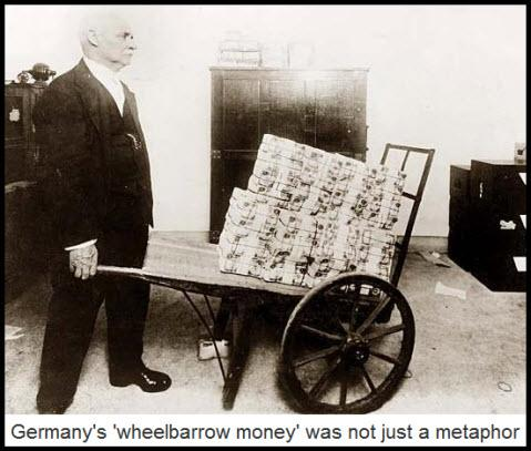 A taste of hyperinflation