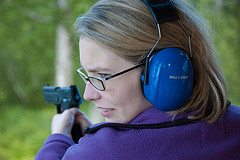 woman with gun 2 10 Lessons for Armed Citizens from the Aurora Theater Mass Murder