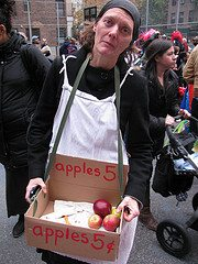 selling apples Great Depression Could you stomach these Great Depression meals?