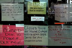 stores closed power outage Lessons Learned from 9 Days Without Power