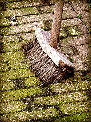 broom Cleaning House TEOTWAWKI Style