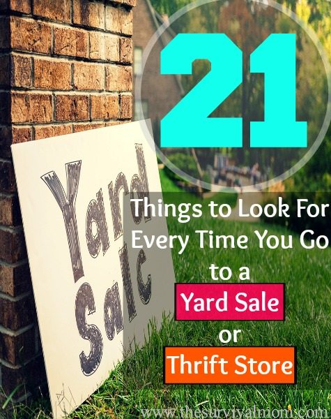 yard sale thrift store