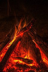 A camping skill basic: Safe fire building