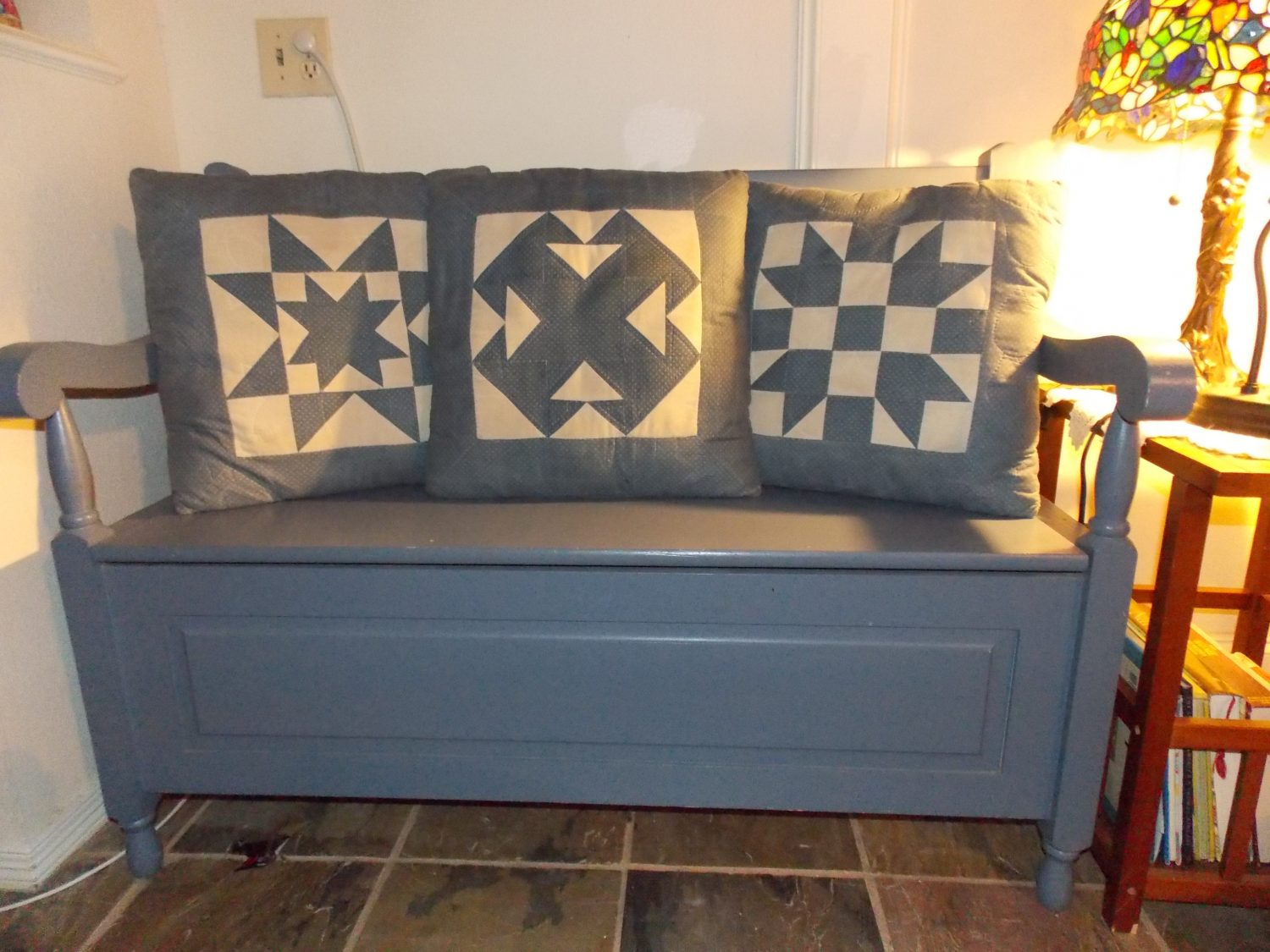Quilted pillows by RightWingMom