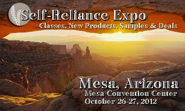 MesaAZ Self Reliance Expo Coming to Mesa, AZ, 10/26 27