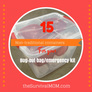 16 Non-Traditional Containers For Your Bug Out Bag/Emergency Kit