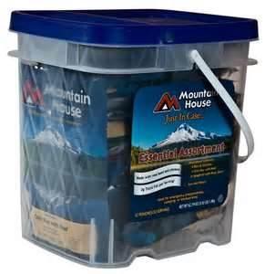 mountain house bucket