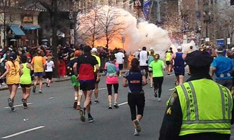 Boston marathon attack