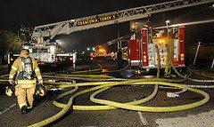 fireman firehoses