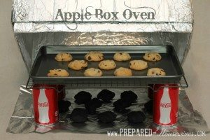 Apple box oven