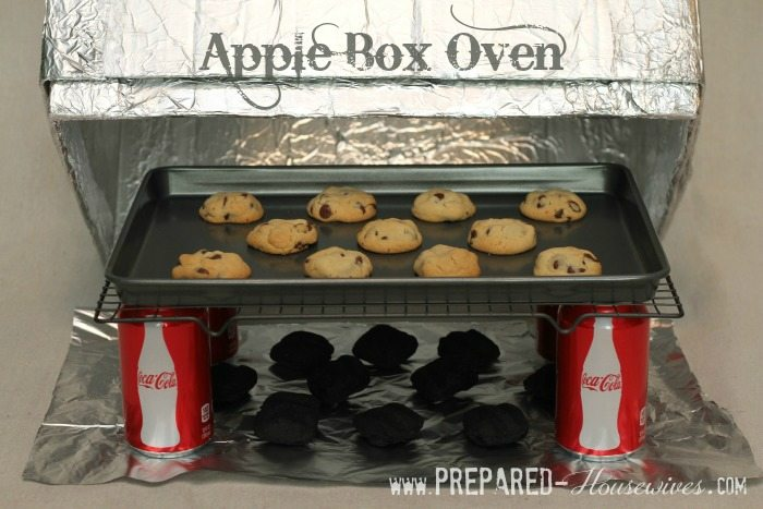 apple box oven(thesurvivalmom)