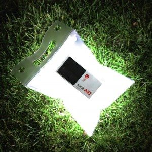 If you add nothing else to your emergency supplies, add this! The LuminAID solar lamp!