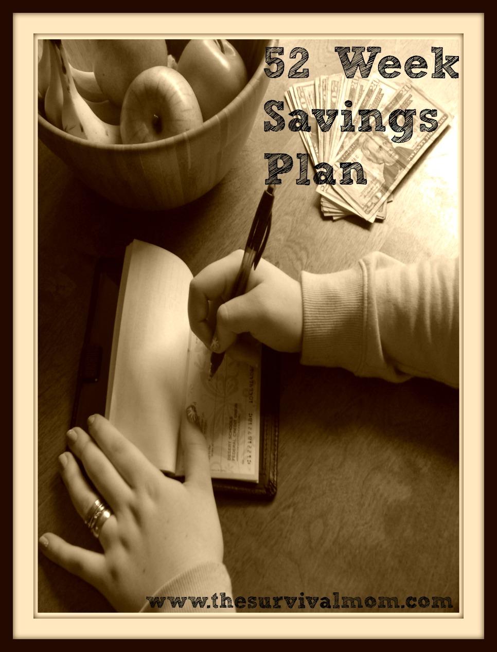 52 Week Savings Plan: March prepping bargains to keep your savings on track