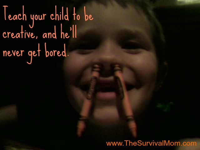 INSTANT SURVIVAL TIP: Teach Your Kids to Be Creative