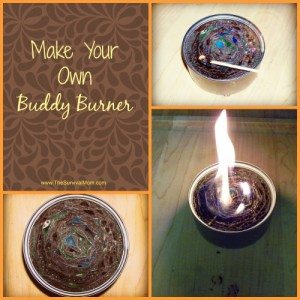 DIY Survival: Make a Buddy Burner