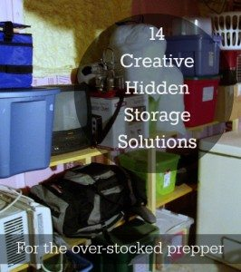 Creative hidden storage