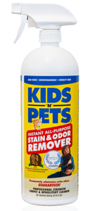 Review: KIDS 'N' PETS Stain & Odor Remover & GIVEAWAY!