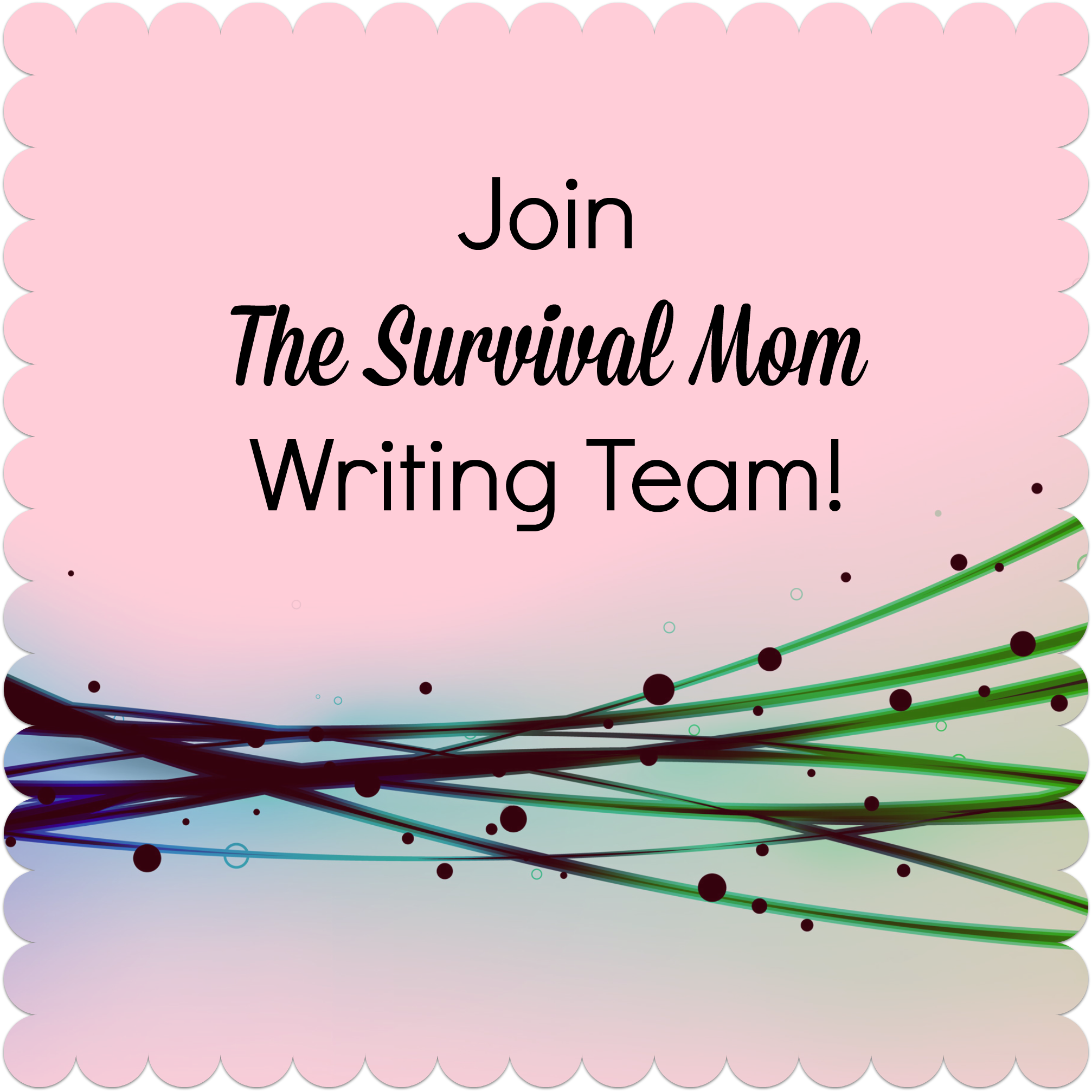 Help Wanted! Join our team of writers