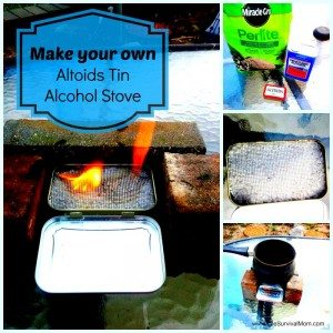 Altoids alcohol stove