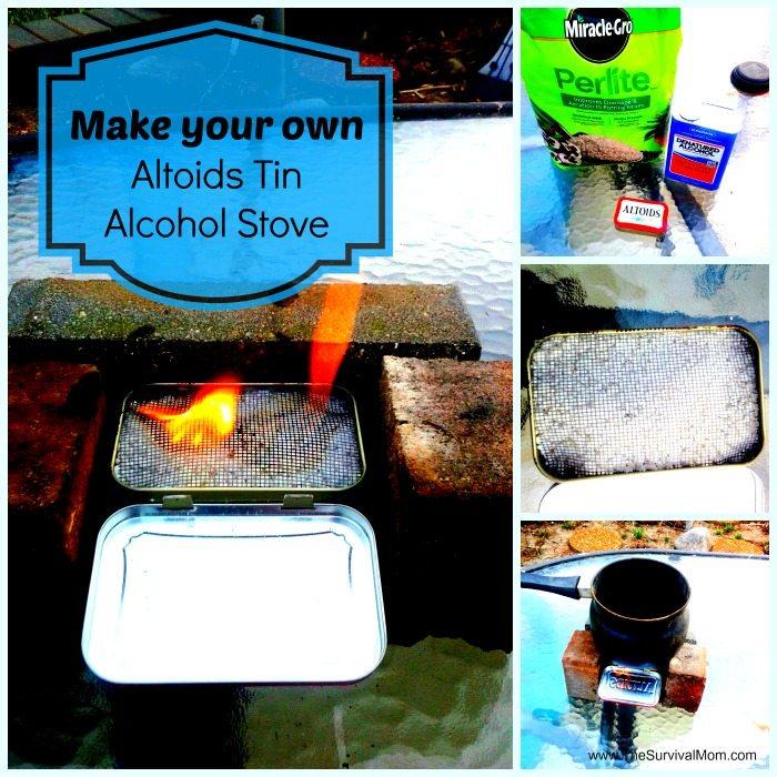 Make Your Own Altoids Tin Stove