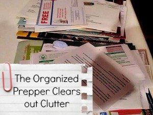 Try it Today! The Organized Prepper Clears Out Clutter – Springtime Edition