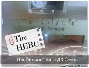 HERC tea light oven