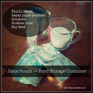 Juice pouch