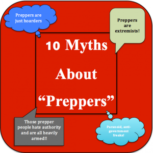 myths about preppers