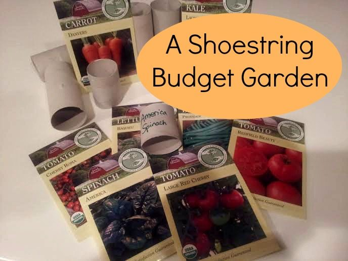 gardening on a budget, frugal gardening