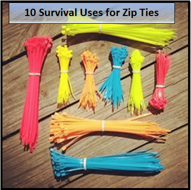 uses for zip ties