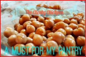 the cheeky chickpea a must for my pantry
