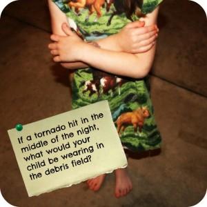 child tornado