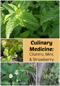 Culinary Medicine: Cilantro, Mint, & Strawberry