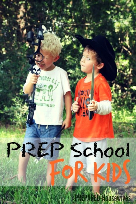 prep-school-for-kids-survival-skills