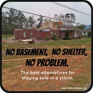 Tornado Survival: No Shelter, No Basement, No Problem