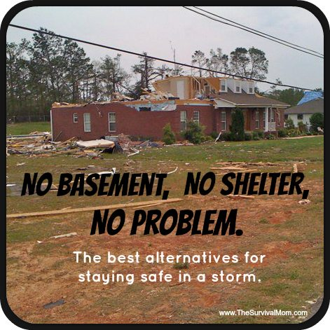 Tornado Survival: No Shelter, No Basement, No Problem
