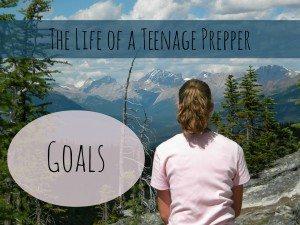 prepper goals