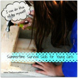 Summertime survival skills girls