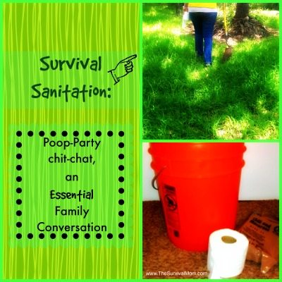 Survival Sanitation: Poop Party Chit-Chat, an Essential Family Conversation