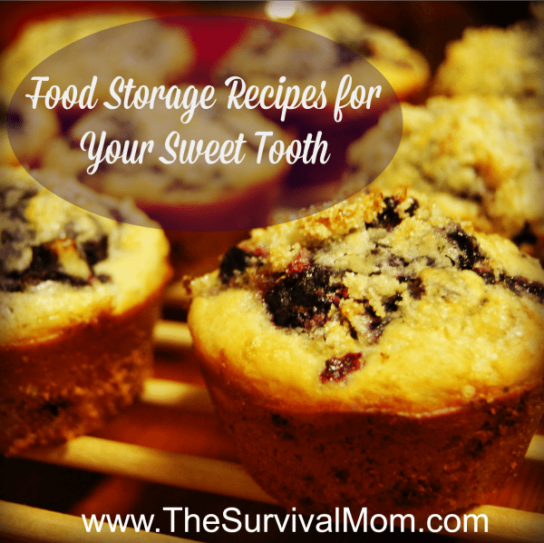 Food storage recipes for your sweet tooth