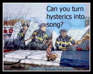 Turning Hysterics into Song: How to calm children in a crisis